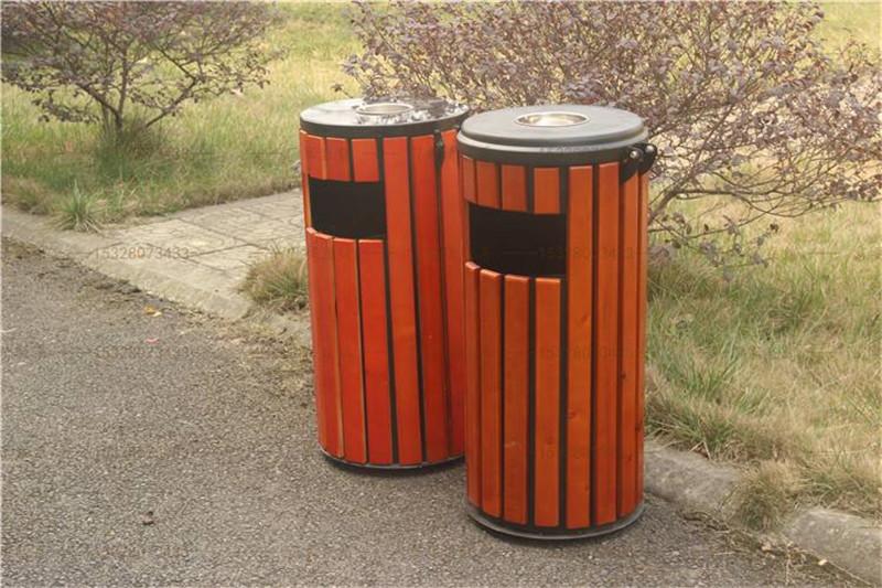 石家庄钢木垃圾桶价格