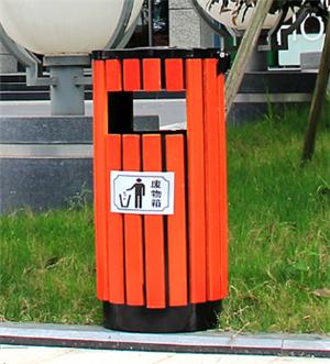 衡水钢木垃圾箱