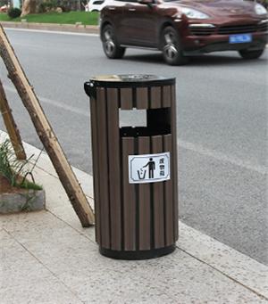 沧州钢木垃圾桶