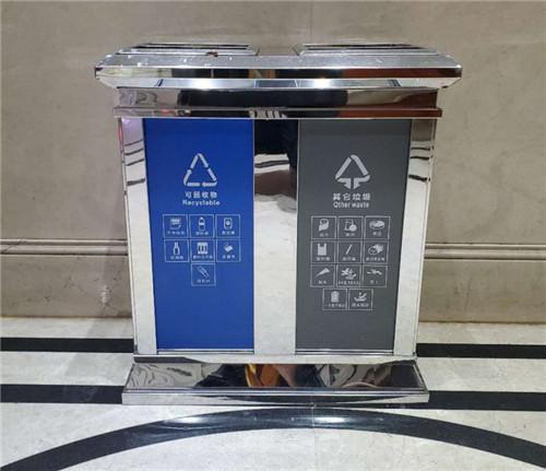 邢台不锈钢分类垃圾箱